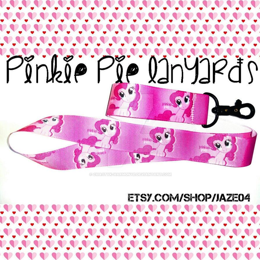 Pinkie Pie Lanyards by cha0tyk-harm0nye