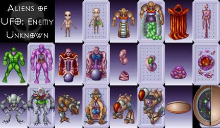 X-COM Aliens by Danial79