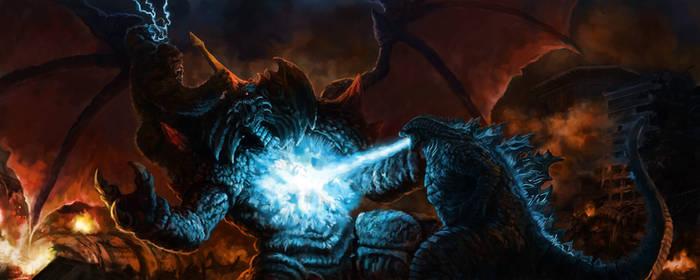 Two Kings vs Destroyah