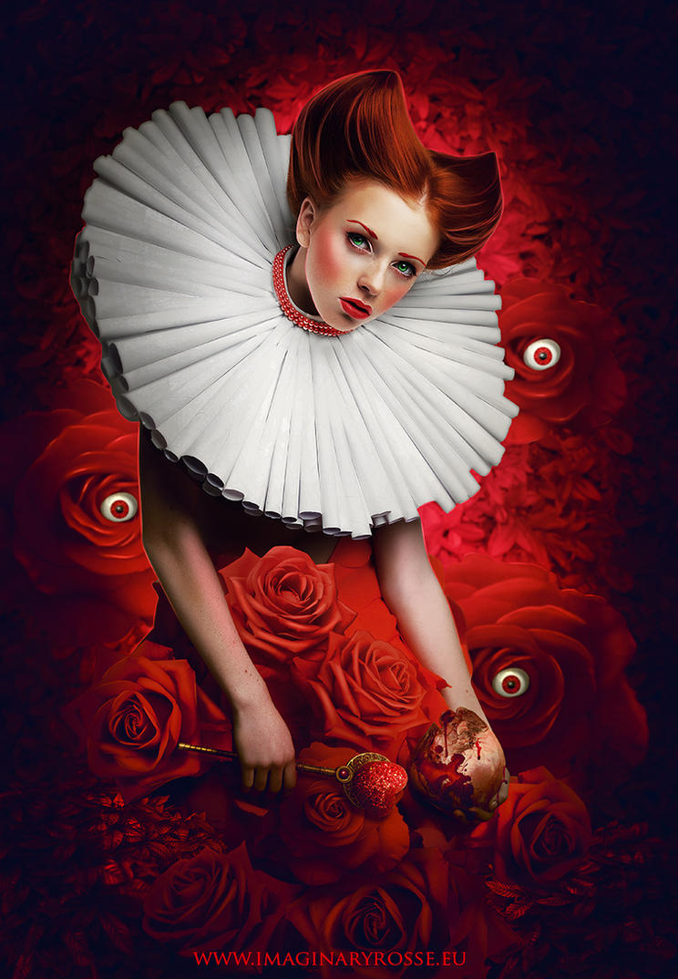 Queen Of Hearts by ImaginaryRosse