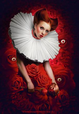 Queen Of Hearts by ImaginaryRosseArt