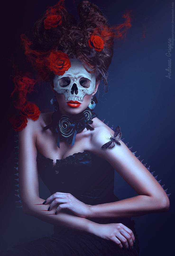 Death Of A Rose by ImaginaryRosse