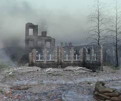 War Aftermath Stock