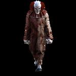 Creepy Clown Stock