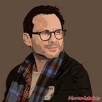 Christian Slater - Mr Robot by Moremistakes
