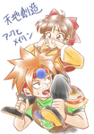 [Terranigma] ark and Mei-Ling
