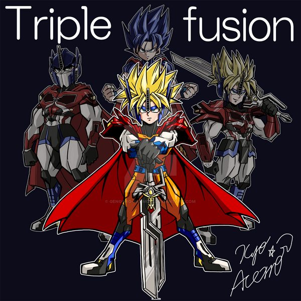 [Triplefusion] Optimus Prime+Superman+Goku-SON by Gengoro ...