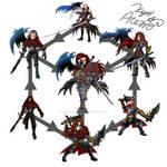 [Hexafusion] Sephiroth+Ganondorf+Jack of Blades