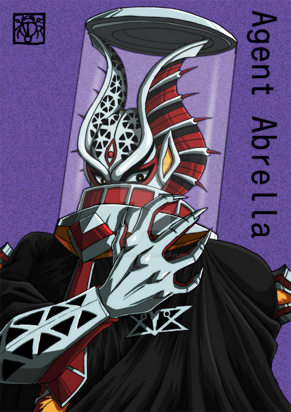 [Tokusou Sentai Dekaranger] Agent Abrella by Gengoro-Akemori