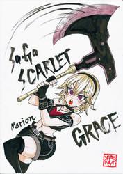 [SaGa SCARLET GRACE] Marion by Gengoro-Akemori
