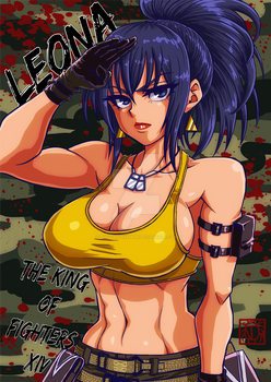 [THE KING OF FIGHTERS] LEONA