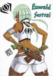 [RWBY] Emerald Sustrai 2 by Gengoro-Akemori