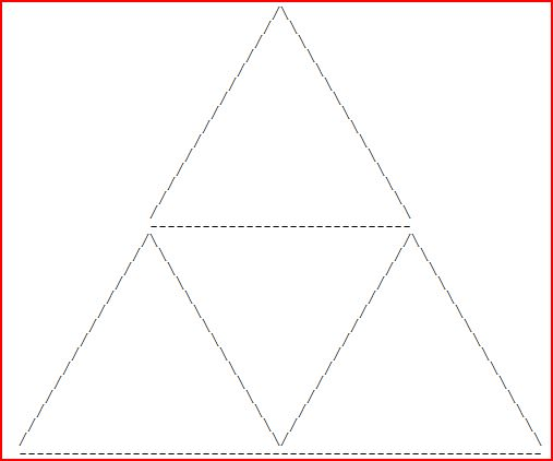 One Line Ascii Art Metal : Ascii triforce by metalmindsam on deviantart