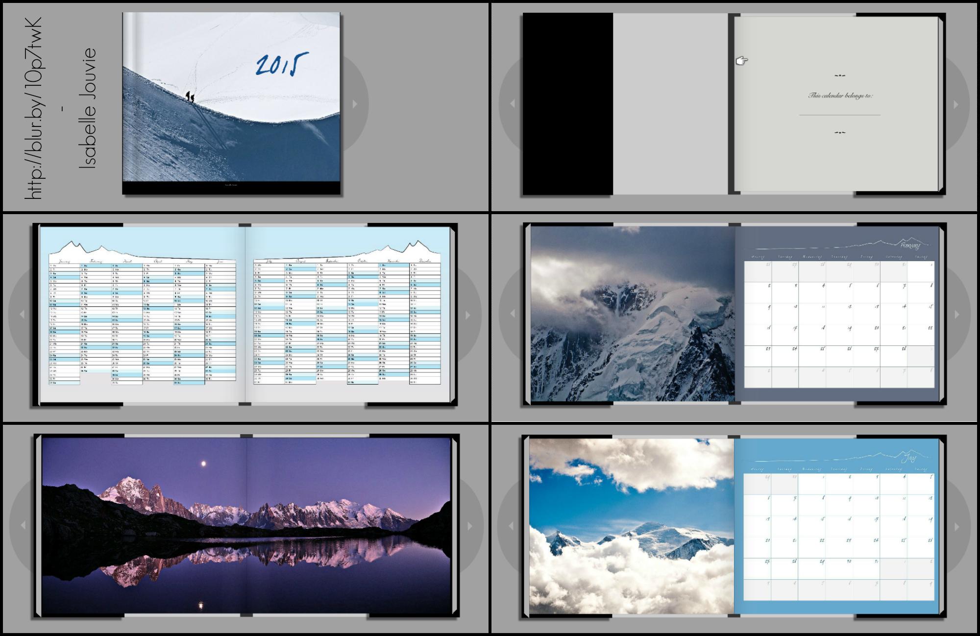 2015 Calendar / Agenda by Zwoing