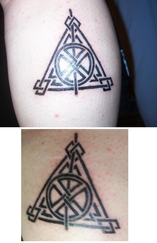Deathly Hallows Tattoo by HeiKurashi