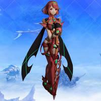 Pyra (Xenoblade Chronicles 2) for XNALARA XPS by Ambros489