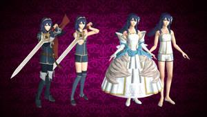 Lucina (including Bride Models) for XNALARA XPS