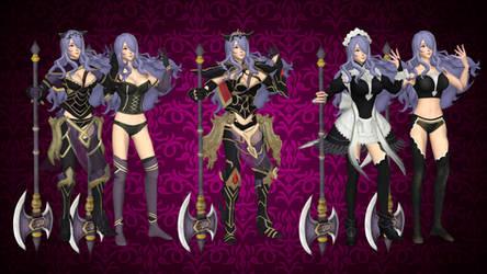 Camilla -FEW- (All outfits) for XNALARA XPS