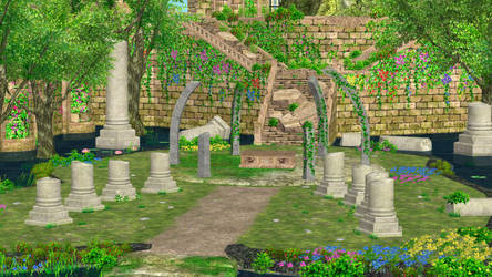 Bloom Palace for XNALARA XPS by Ambros489 by Ambros489