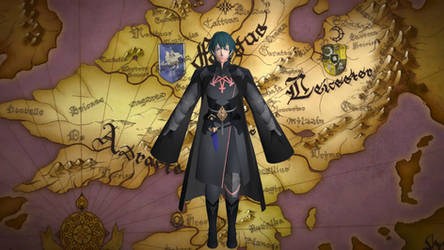 Byleth Male (FE3H) for XNALARA XPS by Ambros489