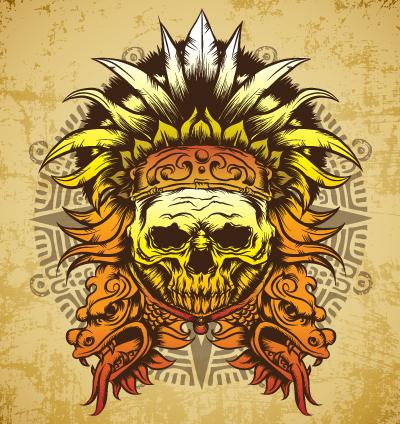 Aztec Warrior Art Wallpaper Download