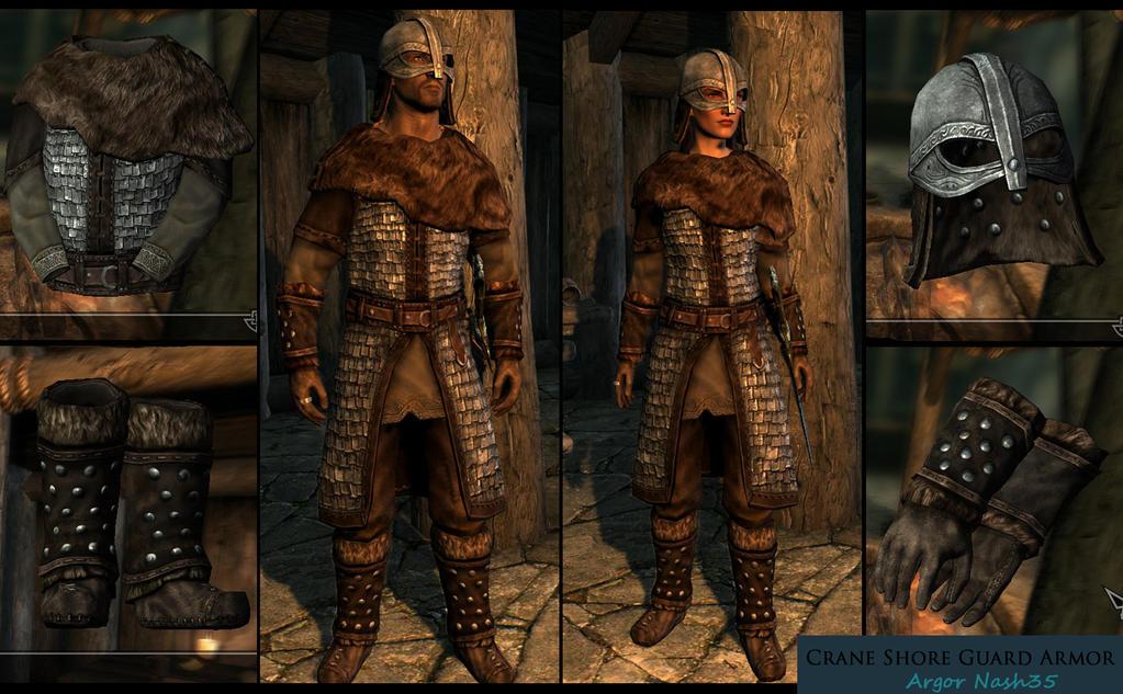 skyrim guard armor replacement