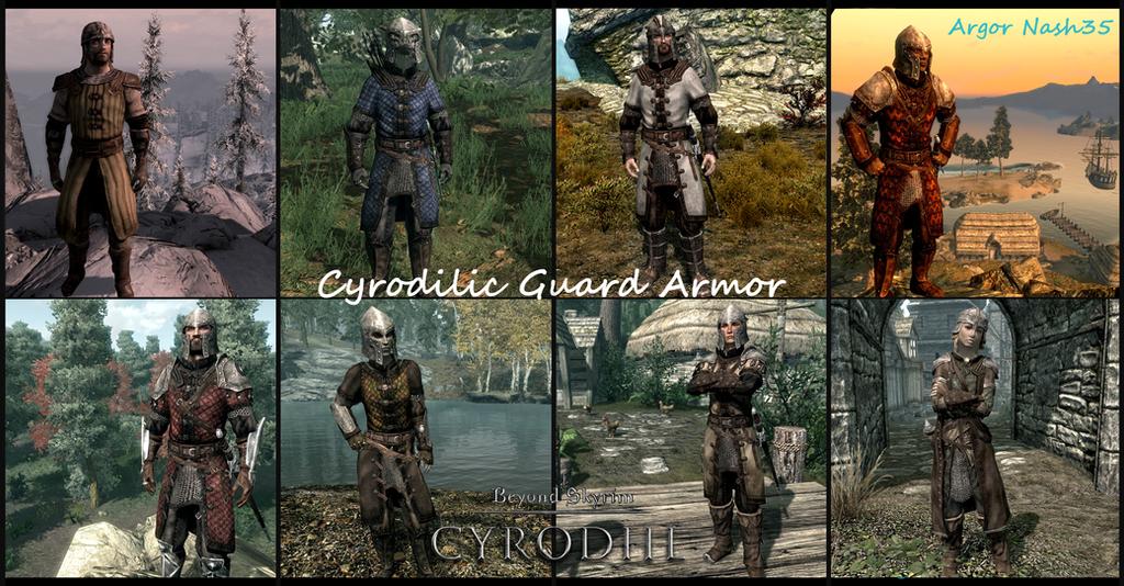 Skyrim City Guards Armor