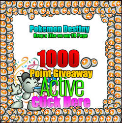 1000 Point Giveaway - ENTER FREE - CLICK HERE!?!