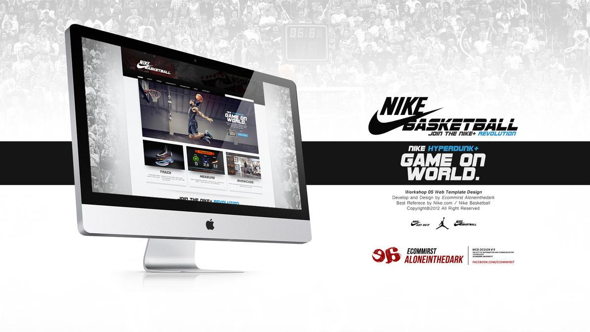 Web Interface : Workshop 4 Nike Basketball by misrties on DeviantArt