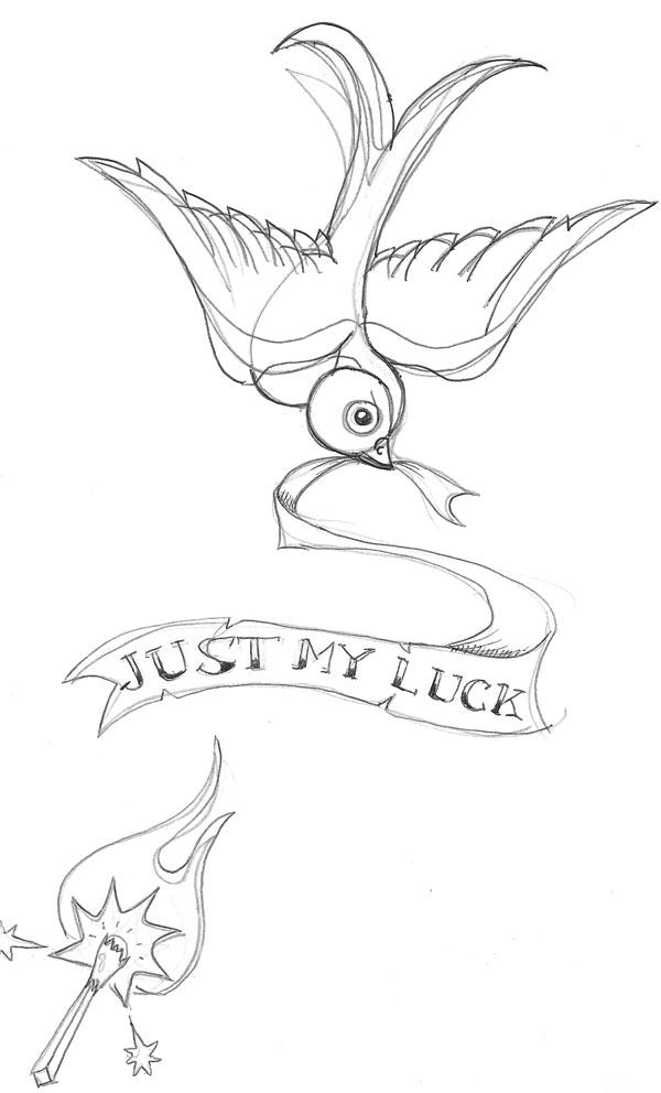 Swallow Tattoo Line Drawing : Tattoo ideas by philip liu