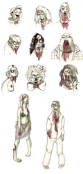 zombies by Leamlu