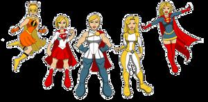 Super... Power... Mostly Kara... Girls... Stuff...