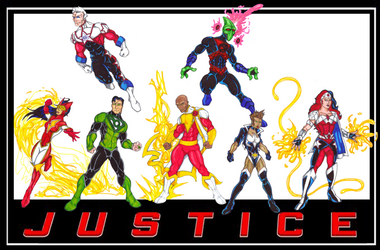FrischDVH's DC Revolt Justice League by Bastard-Bird
