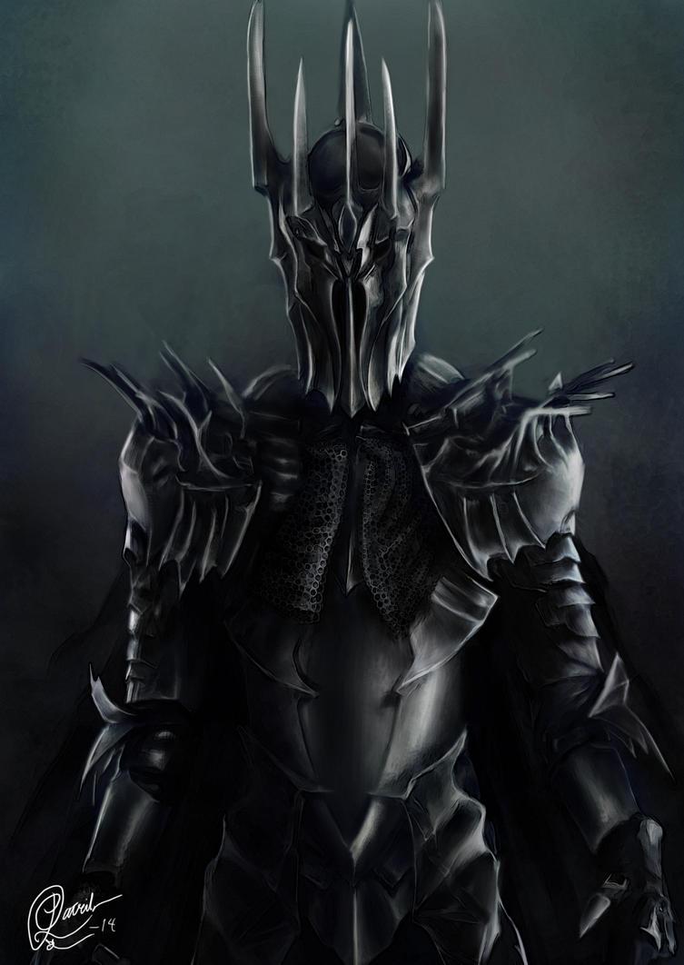 Sauron by Patrike