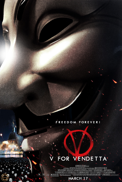 V for VENDETTA Teaser D by sahinduezguen