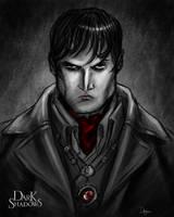 Dark Shadows Contest Portrait by sahinduezguen