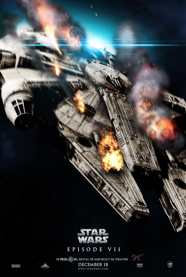 """Tolle StarWars Bilder """"Best of"""" - Seite 3 Star_wars_episode_vii_poster_by_sahinduezguen-d71gg7x"""