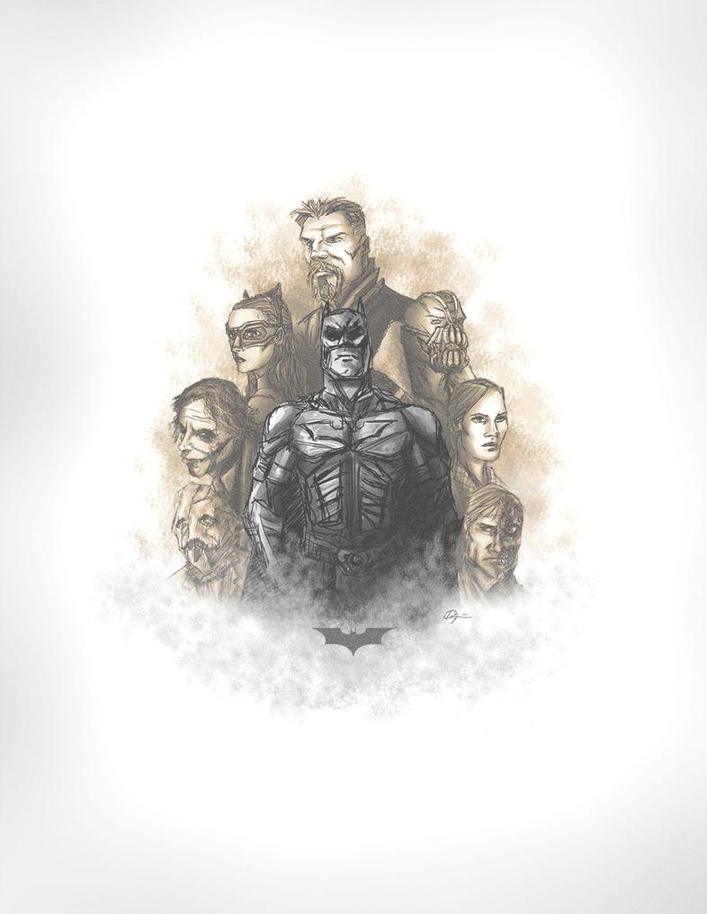 A Dark Trilogy by sahinduezguen
