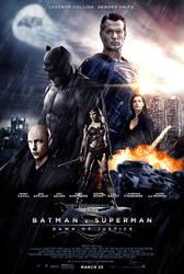 Batman V Superman - Theatrical Poster