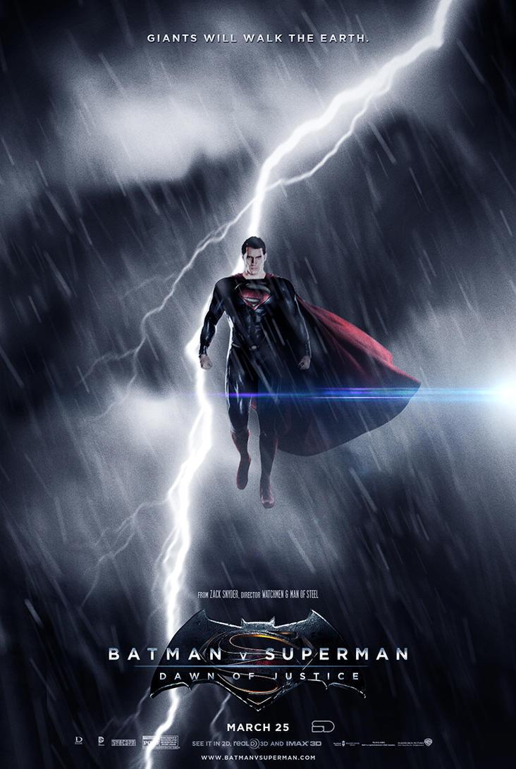 Batman v Superman Poster by sahinduezguen