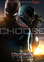 Captain America: Civil War Poster B by sahinduezguen