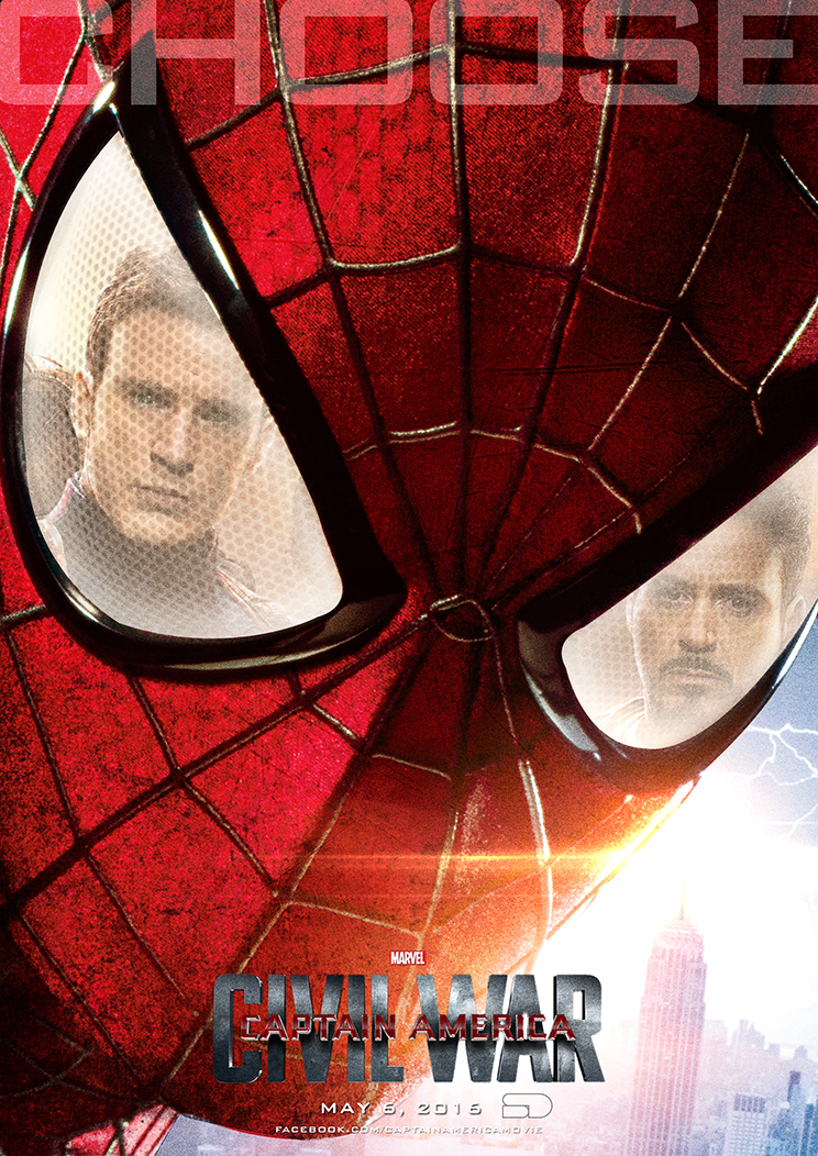 Captain America: Civil War Poster C by sahinduezguen