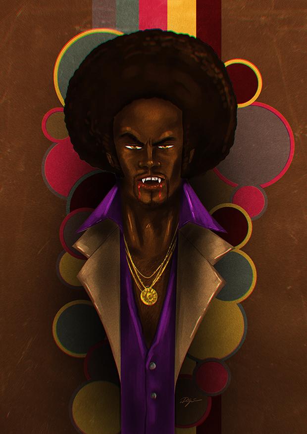 70s Afro Vampire by sahinduezguen