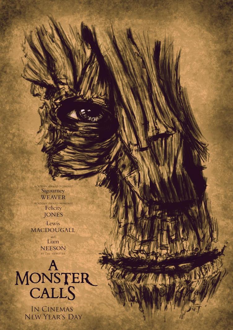 A Monster Calls by sahinduezguen