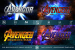 AVENGERS   Text-Effects/Mockups   TemplatePackage