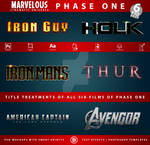 MCU - Phase One  Text-Effects   TemplatePackage