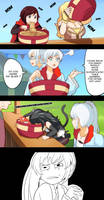 RWBY lets eat by Rouzille
