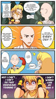 (Onepunchman x RWBY) : How to get Stronger