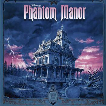 Disney Phantom Manor Promo Score CD Jacket
