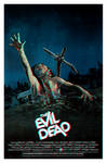 Evil Dead Anaglyphic 3D Poster Variant by TerrysEatsnDawgs